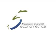 Logo 5to aniversario Econométrica
