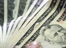 billetes varios dólares americanos